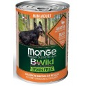 Monge Bwild Grain Free Bocconcini Anatra Mini Adult 400 gr