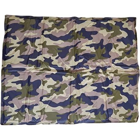 Camouflage Tappetino Rinfrescante militare per Cani 81 x 96 cm