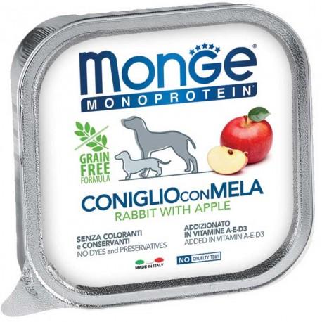 Monge Monoprotein Coniglio con Mela Vaschetta 150 gr per Cane