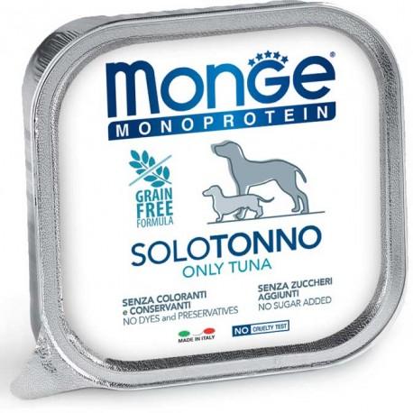 Monge Monoprotein Solo Tonno Vaschetta 150 gr per Cane