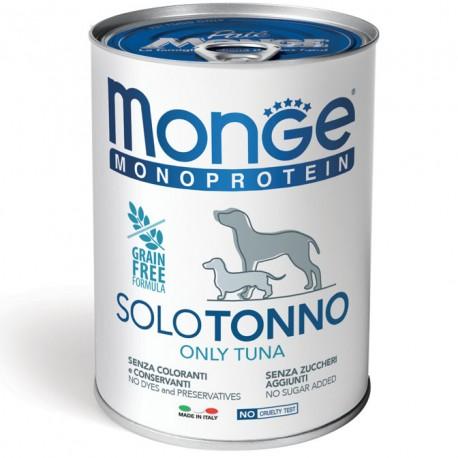 Monge Monoprotein Solo Tonno Lattina 400 gr per Cane
