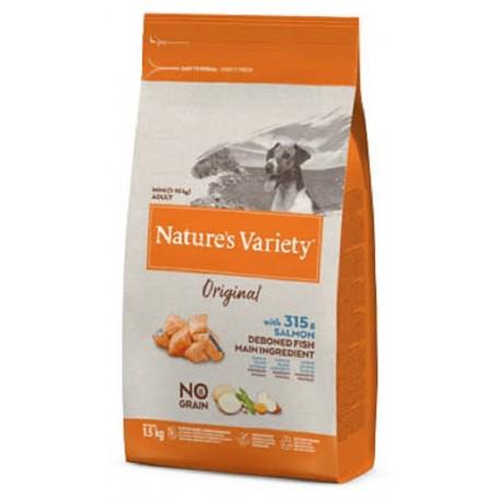 Nature's Variety Cane 1,5Kg Original Mini Adult NO GRAIN con Salmone
