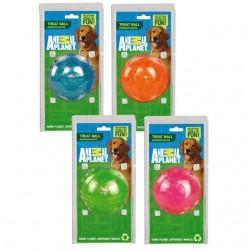 Animal Planet treat Ball gioco palla in gomma per snack cane cm8