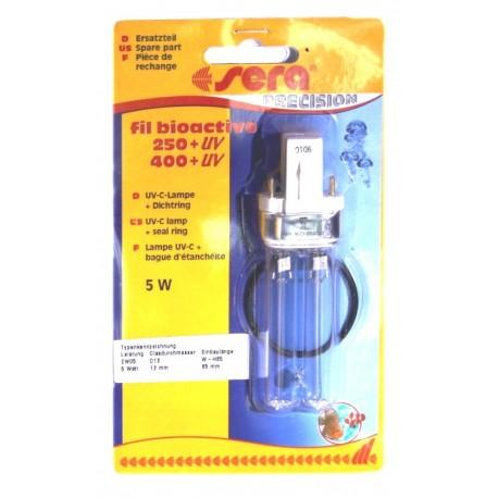 SERA Ricambio lampada UV-C per filtro esterno fil bioactive 250-400 acquario