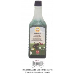 NO QUI repellente 750ml disabituante in gel per cane gatto cod. IGF53