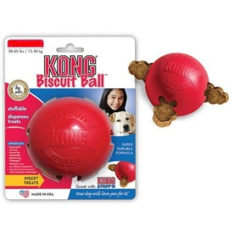 Kong BB3 Biscuit Ball small Palla porta biscotto per cane