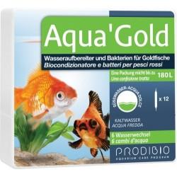 Prodibio Aqua'Gold 12 fiale biocondizionatore e batteri in fiale per pesci rossi