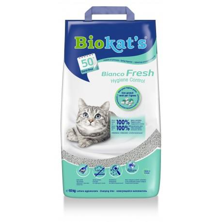 Lettiera Biokat's Bianco Fresh 10 kg per gatto