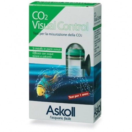 Askoll Co2 Visual Control test a reagente CO2 misurazione acquario