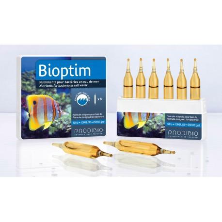 Prodibio Bioptim 6 fiale micro nutrienti per batteri acquario marino