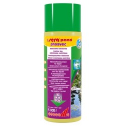 Sera Pond Phosvec 500 ml per 5000 lt Anti Alghe per Laghetto