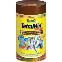 Tetramin Menu 250 ml 64g 4fiocchi diversi per pesci acquario
