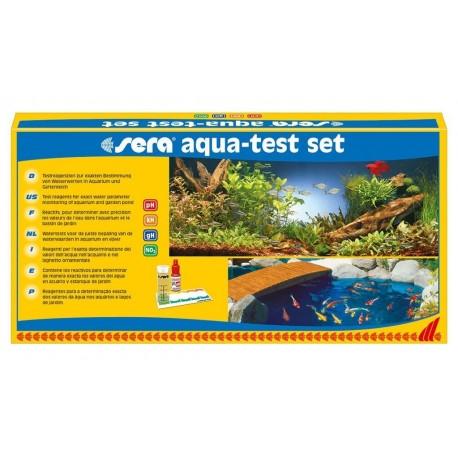 Sera Aqua Test Set Kit per Acquario Dolce e Marino