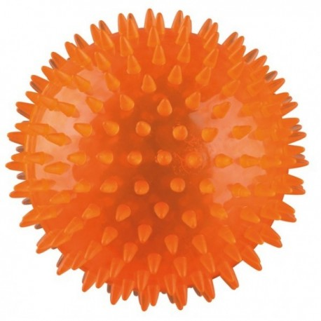 Trixie Gioco palla riccio lampeggiante 5 cm per cane colore assortito cod. 33640