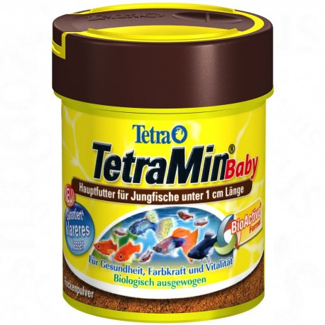 Tetra TetraMin Baby 66 ml 30g Mangime per Avannotti