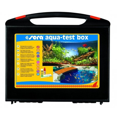 Sera Aqua Test Box CL 9 Test Professionali per Acquario Dolce