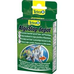 Tetra AlgoStop Depot 12 tabs Antialghe per acquario