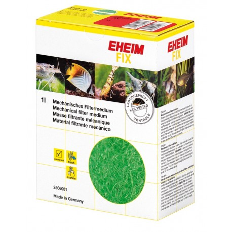 Eheim 2506051 FIX 1 litro - lana verde filtrante per acquario