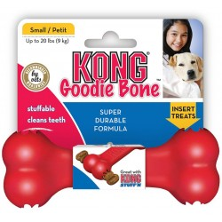 Kong Goodie Bone Small KB31E gioco osso rosso per cane made U.S.A