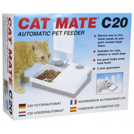 Cat Mate C20 Mangiatoia automatica 48h per Cani e Gatti