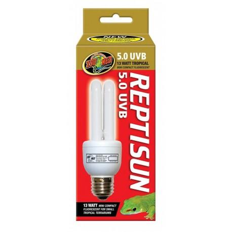 Zoomed ReptiSun 5.0 UVB 26w Lampada Compact per Rettili