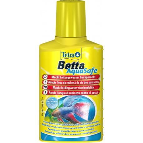Tetra Betta Aquasafe 100 ml biocondizionatore pesce combattente acquario