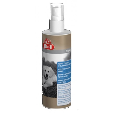 8in1 Spray Educativo 230ml per cuccioli cane
