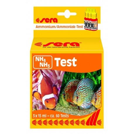 Sera NH4/NH3 Test Ammoniaca per acquario marino dolce e laghetto