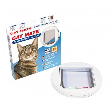 Cat Mate 210 Bianca Gattaiola 4 funzioni per Gatti per vetri o finestre
