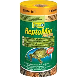Tetra Reptomin menu 250 ml 44g mangime misto per Tartarughe