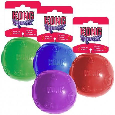 Kong Squeezz ball PSB2 gioco palla rimbalzante per cane tg media