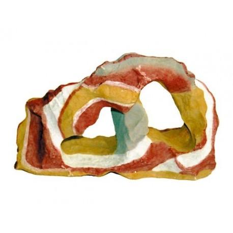 Decoro Roccia Multicolor Large per Acquario