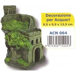 Decoro Castello antico acn064 per acquario