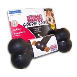 Kong Goodie Bone Extreme Medium 10012 gioco osso colore nero per cane