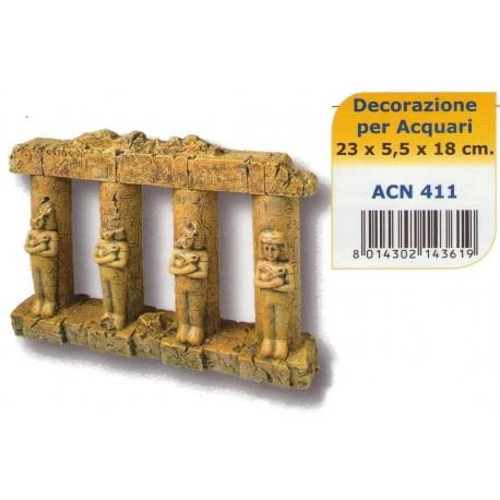 Decoro Colonne con statue per acquario ACN411