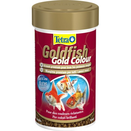 Tetra Goldfish Gold Colour 250 ml 75g Mangime per Pesci Rossi