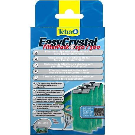 Tetra EasyCrystal Filter Pack C250/300 cartucce con carbone attivo
