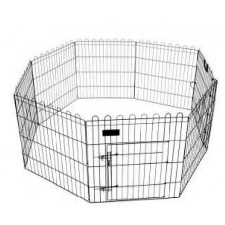 Recinto gabbia pieghevole per cuccioli 61x76 cm CANE e roditori GIARDINO