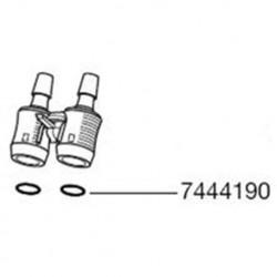 Eheim 7444190 ricambio o ring gruppo rubinetti per filtro Professionel II acquario