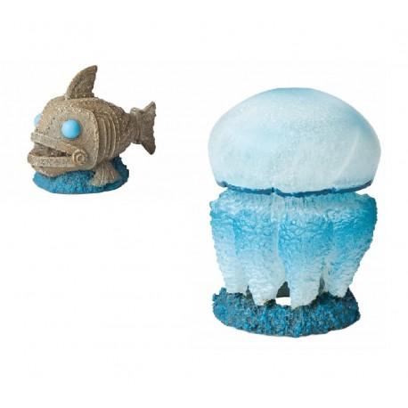 Hydor H2Show Atlantis Pesce + Medusa decorazione acquario