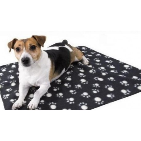 Coperta in Pile con Zampine per Cani cm 70