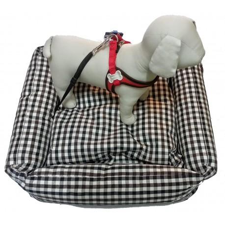 Fuss Dog Cuccia impermeabile con aggancio cintura auto per cane cod. T169