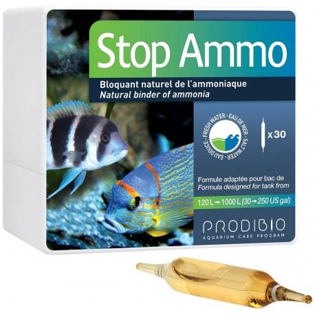 Prodibio Stop Ammo 30 fiale per acquario dolce e marino stop ammoniaca