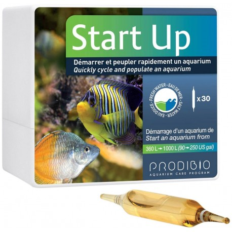 Prodibio Start Up 30 fiale batteri anti ammoniaca per acquario dolce e marino