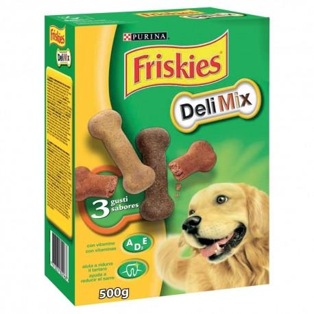 Friskies Delimix 500g Biscotti 3 gusti per Cane