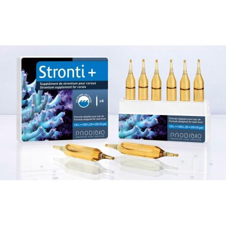 Prodibio Stronti + 6 fiale integratore per coralli duri per Acquario marino