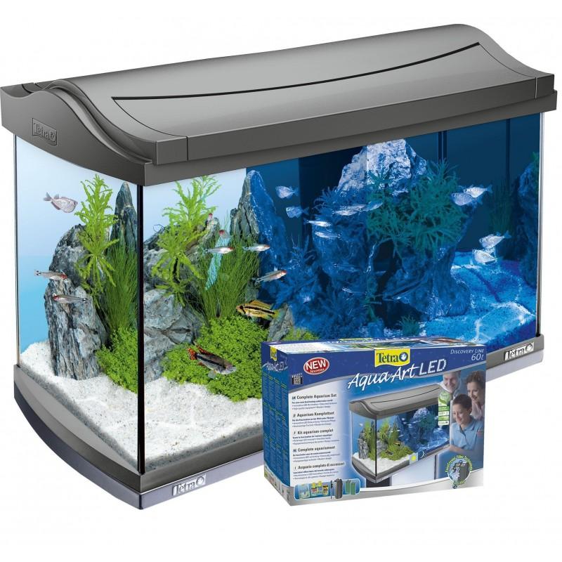 acquario tetra aquaart led 60 litri. Black Bedroom Furniture Sets. Home Design Ideas