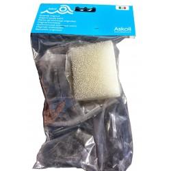 Askoll Ricambio materiale filtrante filtro aquaclear mini acquario fluval edge