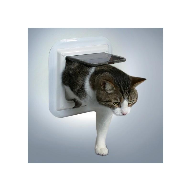 Trixie porta basculante per gatti in vetro - Porta per gatti ...