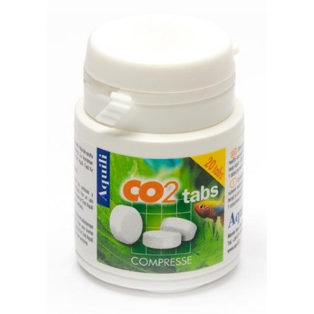 Aquili CO2 Tabs 20 Compresse fertilizzante